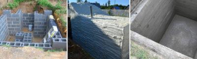Строительство подвала при высоком уровне грунтовых вод