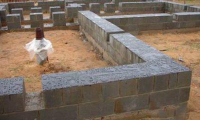 Фундамент из керамзитобетонных блоков своими руками