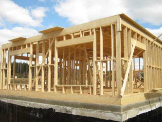 Как построить одноэтажный каркасный дом своими руками?