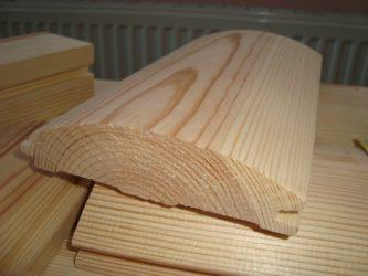 Вагонка блок хаус имитация бруса