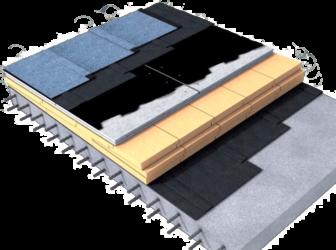 Мягкая кровля технология монтажа плоская крыша