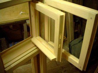 Изготовление деревянных оконных блоков