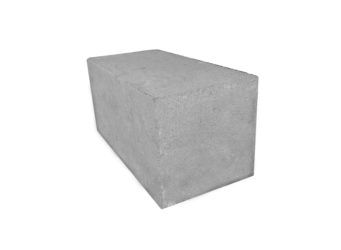 Полнотелый керамзитобетонный блок для фундамента