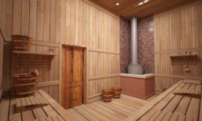 Строительство парной в бане