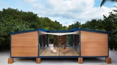 Дом из блок контейнеров для постоянного проживания