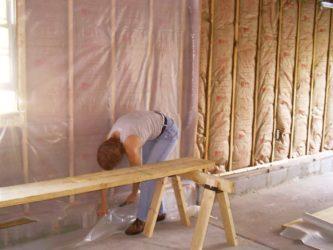 Пароизоляционная мембрана для стен каркасного дома
