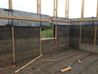 Строительство дома из арболита своими руками
