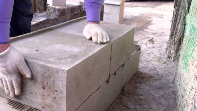 Клей для керамзитных блоков
