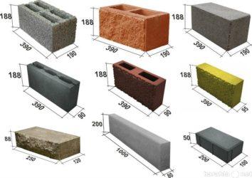 Какие бывают строительные блоки для стен?