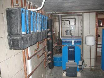 Временное отопление при строительстве