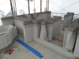 Строительство домов с помощью 3д принтера