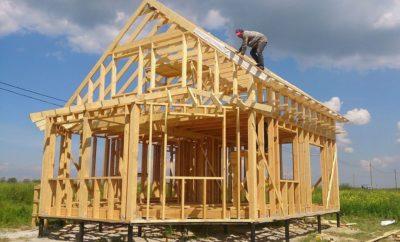 С чего начать строить каркасный дом?