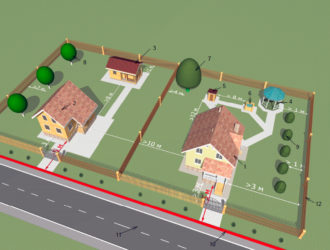 Строительство дома в садовом товариществе нормы
